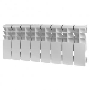 Радиатор алюминиевый ROMMER Plus 200, 10 секций