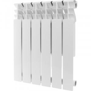 Радиатор алюминиевый ROMMER Plus 500, 8 секций