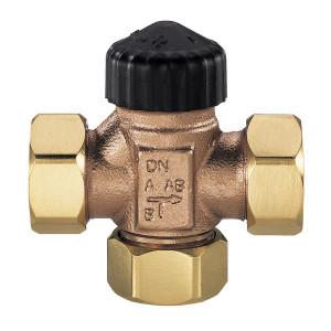 """HEIMEIER, Трехходовой смесительный клапан (плоские прокладки) DN25 1"""""""