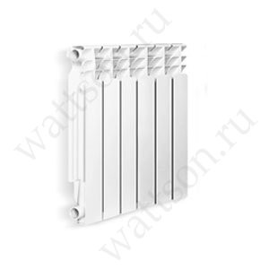 Радиатор литой алюминиевый Wattson AL Элемент 500/80 6 секций