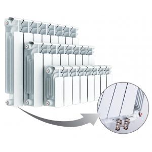 Радиатор биметаллический RIFAR B500 Ventil BVR 08 секций