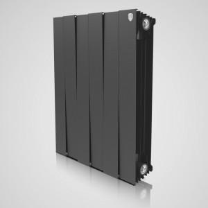 Радиатор биметаллический Royal Thermo PianoForte Noir Sable 500/100 6 секций