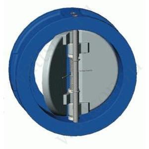 TECOFI, Обратный клапан м/ф двухстворчатый CB 3448 (3440) Ду 065
