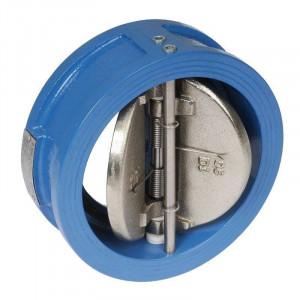 TECOFI, Обратный клапан м/ф двухстворчатый CB 3448 (3440) Ду 040