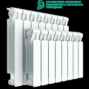 Радиатор биметаллический RIFAR MONOLIT 500 6 секций