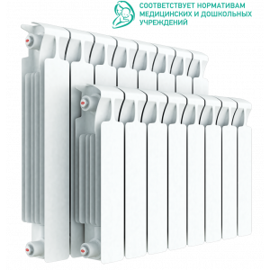 Радиатор биметаллический RIFAR MONOLIT 500 14 секций