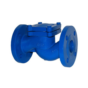 АДЛ, Обратный клапан подъемный RD16F Ду 080, фл., чугун, Ру 16