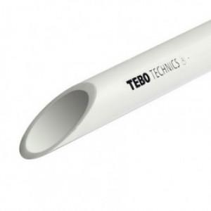 Труба полипропиленовая TEBO 63х5,8 PN 10 (SDR 11)