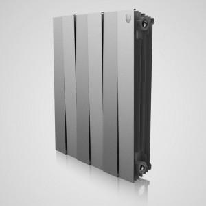Радиатор биметаллический Royal Thermo PianoForte Silver Satin 500/100 4 секции
