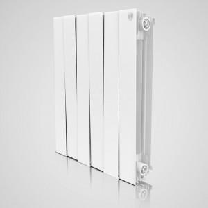 Радиатор биметаллический Royal Thermo PianoForte Blanco Traffico 500/100 12 секций